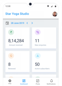 Business Report for Yoga Studio