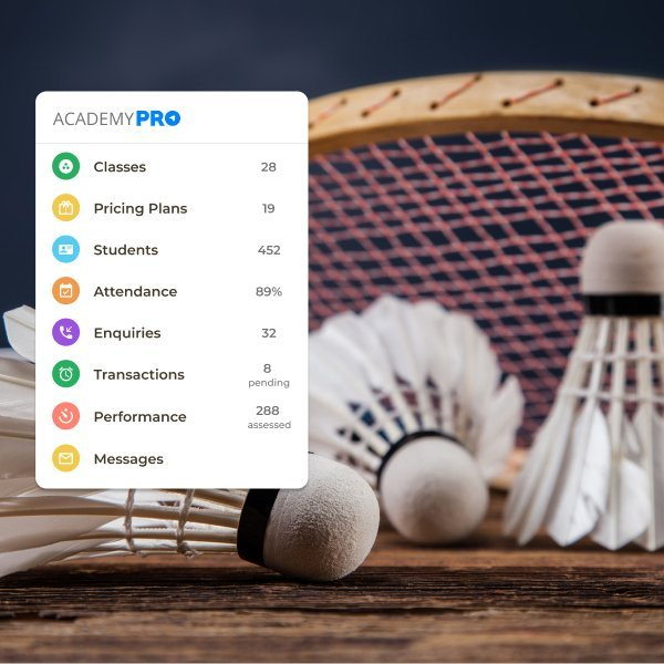 Badminton Coaching Academy Management App