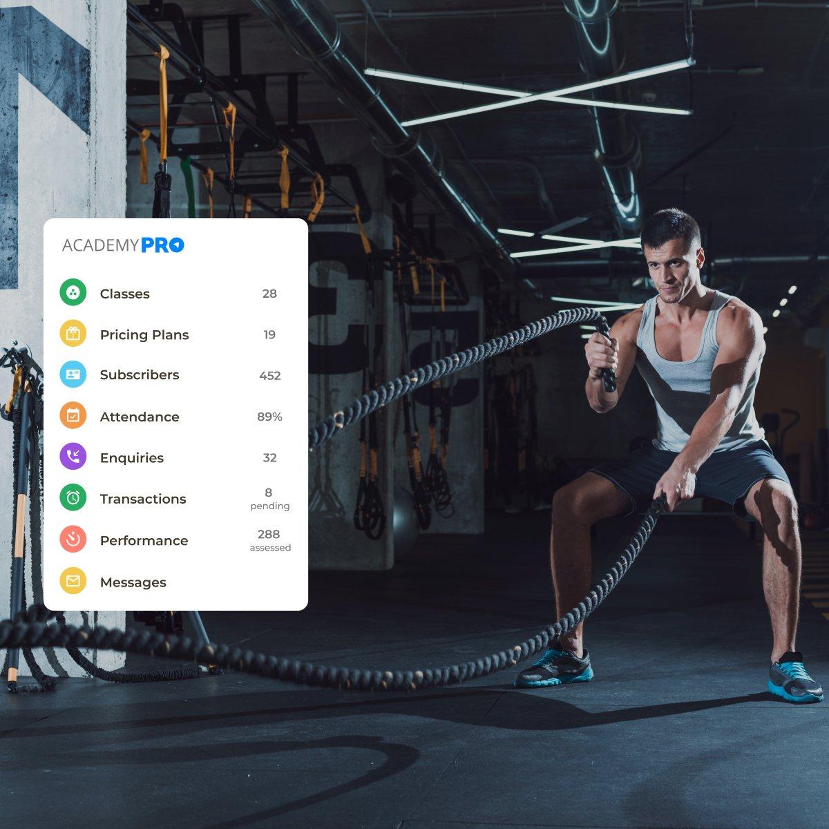 Crossfit Training Studio Management App