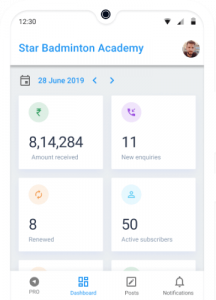 Business Report for Badminton Academy