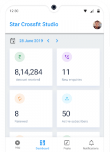 Business Report for Crossfit Studio