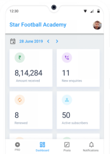 Business Report for Football Academy