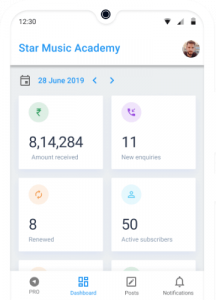 Business Report for Music Academy