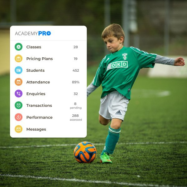 Football Coaching Academy Management App