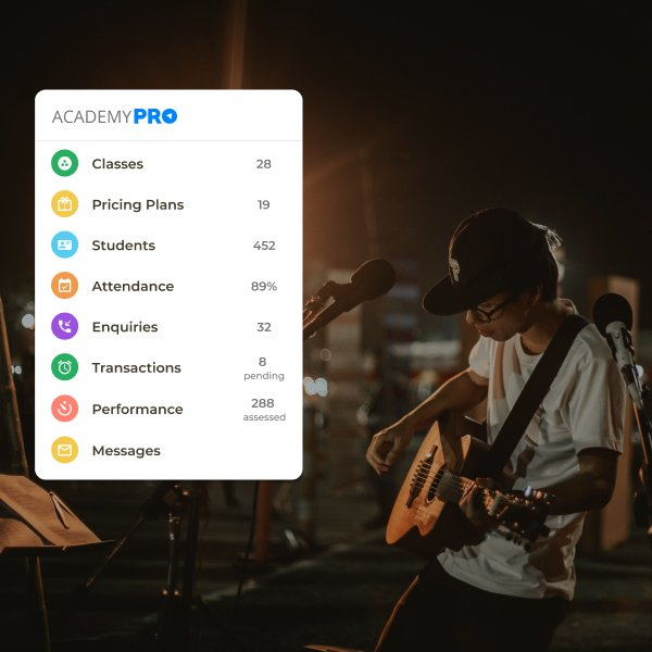 Music Academy Management App