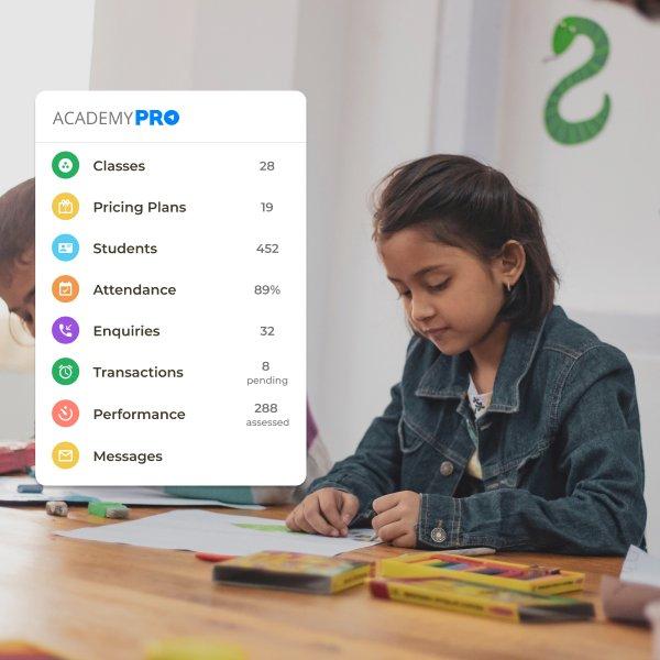 Play School Management App