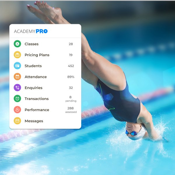 Swimming Class academy Management App