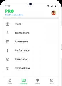 App for Dance Class