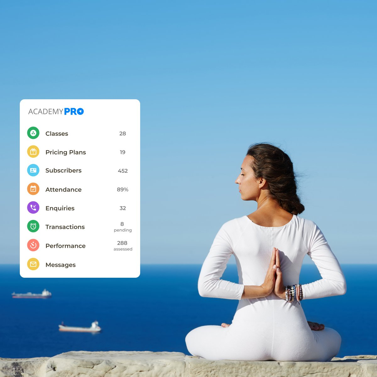 Yoga Coaching Studio Management App